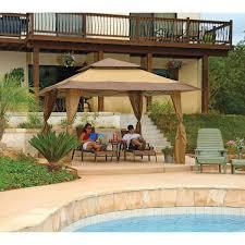 Quik Shade Summit 10x10 Instant Canopy by Amazon Com Z Shade Instant Gazebo 13 U0027 X 13 U0027 Patio Lawn U0026 Garden