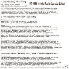 Radio Base Station Vhf Air Band Frequency Mobile Amazon Com Juentai Jt 6188 Dual Band Vhf Uhf 136 174 400 480mhz