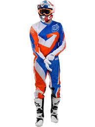 troy lee designs motocross gear troy lee designs blue orange 2015 gp air vega mx jersey troy lee