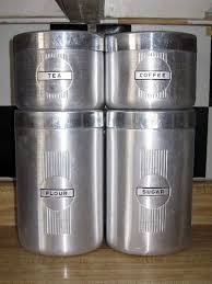 vintage kitchen canister sets decorating clear