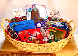 maine gift baskets maine themed large gift basket