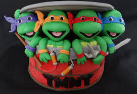 tmnt cake topper how to make fondant turtles