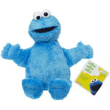 cookie monster baby shower playskool sesame street cookie monster jumbo plush walmart com