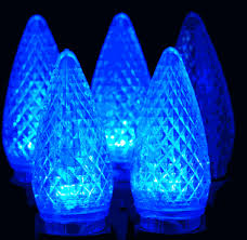 twinkle c9 led blue replacement lights novelty lights inc