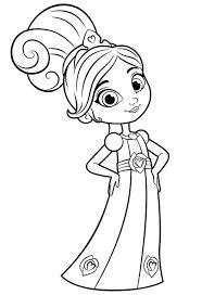 kids n fun com 13 coloring pages of nella the princess knight