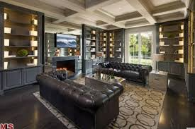 interior excellent home library for home decorator ideas with magnifcent home libraries design home libraries fancy living and library room ideas in black cream color