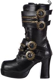 womens boots 100 pleaser s gothika 100 boot steunko