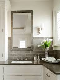 Bathroom Backsplash Tile Ideas - best 25 tile around mirror ideas on pinterest no sanding white