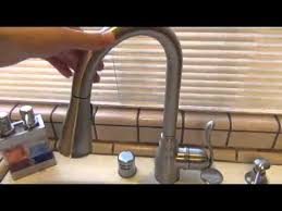 moen 7594esrs arbor review our moen 7594ec arbor with motionsense kitchen faucet review