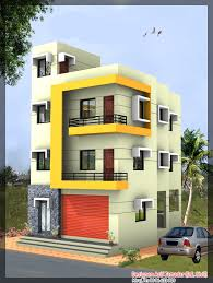 apartments three story building design storey house