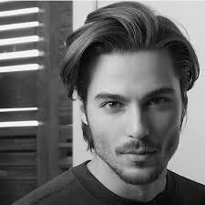 male models with long straight hair straight haircuts for medium hair for guys hair pinterest