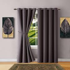 Charcoal Drapes Warm Home Designs Window Treatments Curtains Drapes Scarfs U0026 Sheers