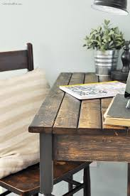 Desk Plans by Diy Farmhouse Writing Table Free Plans Cherished Bliss