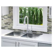 Professional Stainless Steel Double Kitchen Sink RONA - Double kitchen sink