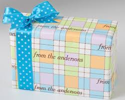 gift wrap paper personalized gift wrapping paper