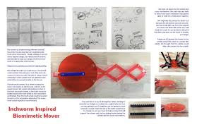 The Inchworm Biomimetic Creature Tufts Maker Network