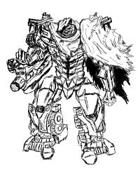 transformer coloring pages megatron dark of the moon by jonah within transformers of the