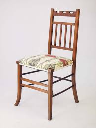 Bedroom Chairs Uk Only Small Edwardian Arts U0026 Crafts Oak Chair