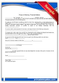 Limited Power Of Attorney Form Georgia by Free Printable Power Of Attorney Forms My San Antonio Mobile