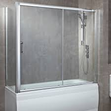 Sliding Glass Shower Doors Over Tub by Lakes Bathrooms Classic 1500mm Over Bath Double Sliding Door Bath Show