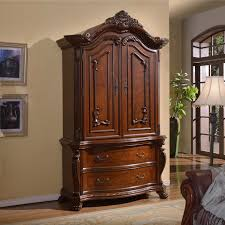 Bedroom Furniture Tv Armoire A R T Furniture Old World Bedroom Armoire Pomegranate Hayneedle