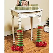 festival decorations amazon com ultnice elf elves table leg covers feet shoes legs for