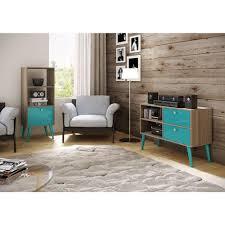 Sauder Premier 5 Shelf Composite Wood Bookcase by Sauder Barrister Lane Salt Oak Open Bookcase 414726 The Home Depot