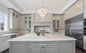 light gray kitchen cabinets with granite kitchen cabinets design ideas for beautiful kitchens
