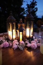 Wedding Candle Centerpieces Outdoor Wedding Reception Archives Southern Weddings
