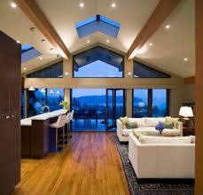 interior vaulted ceiling living room design cathedral ceiling