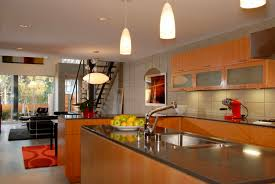 pendant lighting kitchen island ideas wooden flooring natural