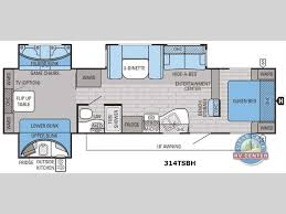2 bedroom fifth wheel floorplans google search camper floor