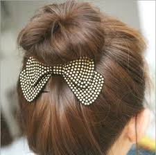 designer hair accessories fashion women hair accessories wholesale new arrival bow hairpins