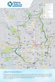 Map Poster Poster Atlanta Beltline Map