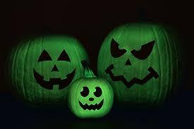 Halloween Glow In The Dark Decorations by Glow In The Dark Pumpkins