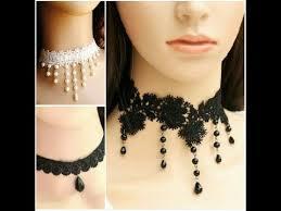 lace necklace images Beatiful lace necklace designs lace neclace 2017 jpg