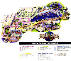 Orlando Parks Map by Theme Park Page Park Map Archive