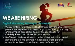 International Marketing Director Job Description Celebrity Fitness Linkedin