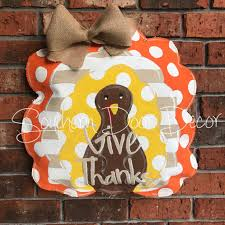 turkey door hanger polka dot striped turkey door hanger home southern door decor