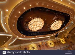 Ceiling Art Lights by Art Deco Style Presentation Ceiling Lighting Main Ballroom Cunard
