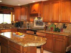 quartz countertops with oak cabinets pictures of kitchens with oak cabinets and granite countertops