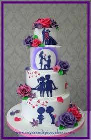 73 best silhouette cake ideas images on pinterest cakes