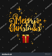 Christmas Cards Invitation Template Designs Merry Christmas Cards Modern Stock Vector