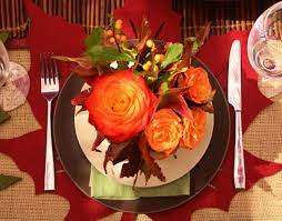 Thanksgiving Home Decor by Best Dining Table Decorations For Fall Simple Dinner Party Ideas