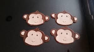 monkey cake topper fondant monkey animal cupcake toppers monkey cake dcorations
