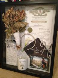 Wedding Wishes Shadow Box Shadow Wedding Box Maybe Make A Shrunk Copy Of The License To Be