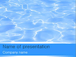 water powerpoint template big apple templates