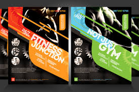 fitness flyer template fitness flyer designs