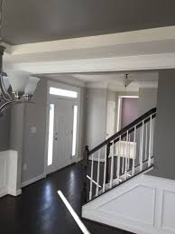 Colors For Dining Room Walls Shaw Flooring Bison Sherwin Williams Paint Repose Gray Entry