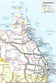 map of queensland 12 top tourist attractions in queensland planetware